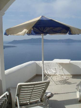 Villa Renos: terrace