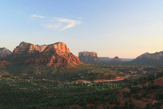 Sedona, AZ: View from Sunset Mesa