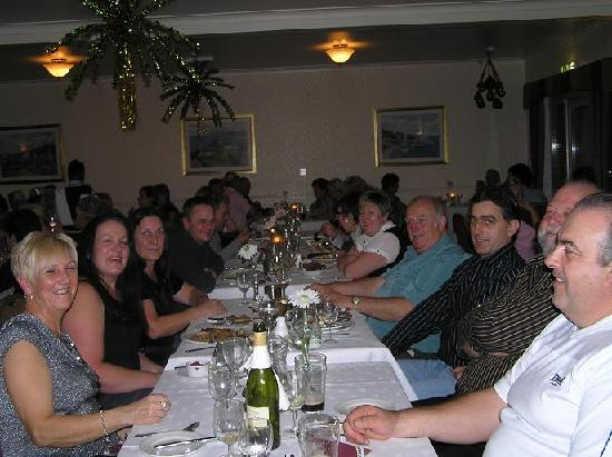 Queens Hotel: dining room