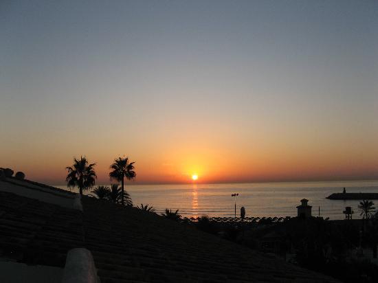 Hotel Mac Puerto Marina Benalmadena: Sonnenaufgang