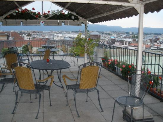 Bel'Esperance: Terrace with views