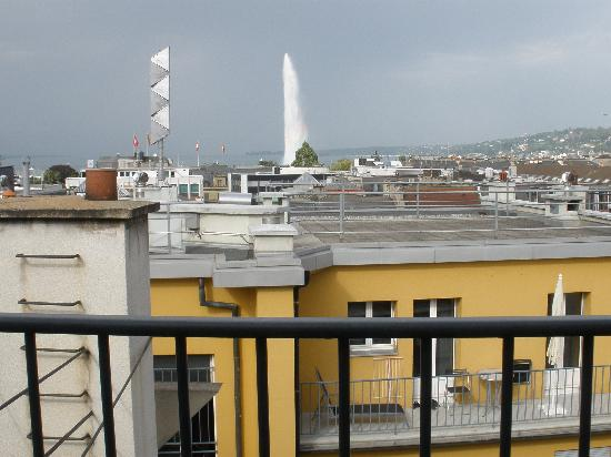 Bel'Espérance : view from the terrace