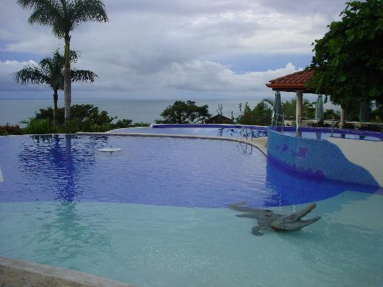 "Parador Resort and Spa : Main pools with the ""coca""/crocodile statue"