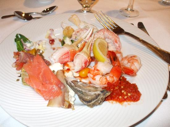 Sterling Brunch: a plate of the starters