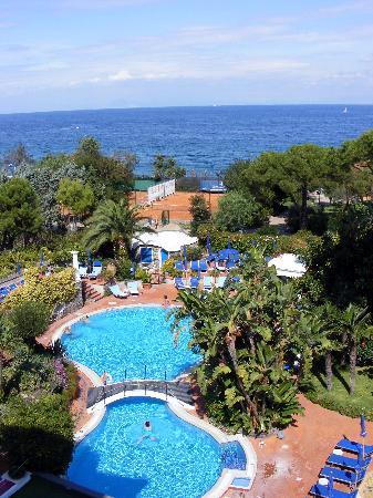 Il Moresco Hotel: Vista dal terrazzo