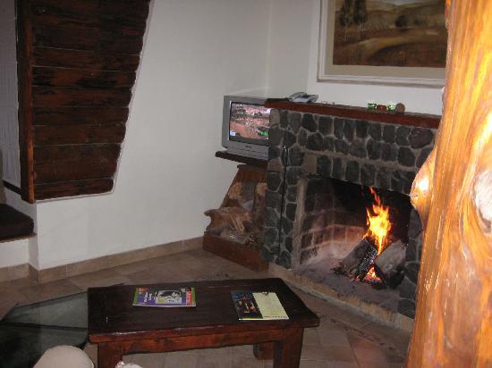 Ibai ko Mendi: Fireplace
