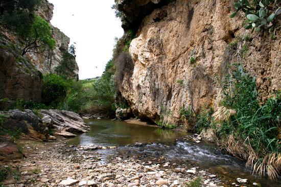 Castellammare del Golfo, Itálie: Fiume delle acque calde