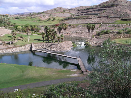 Salobre Golf and Resort : General view of golf course