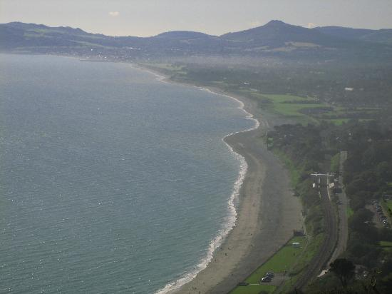 View from atop Killiney Hill