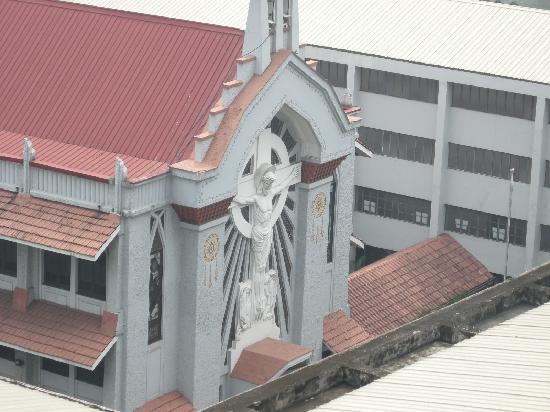 Tropicana Suites : View from top floor