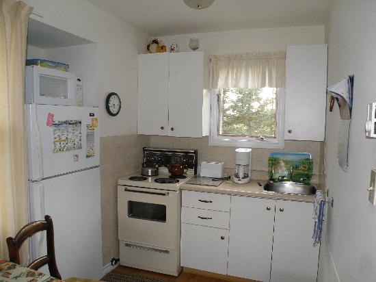 The Birches Housekeeping Cottages: the kitchen