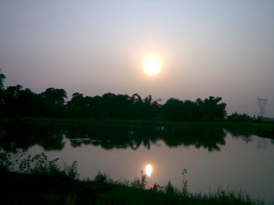 Benggala Barat, India: Beside the Sajnekhali Creek,Sunderbans