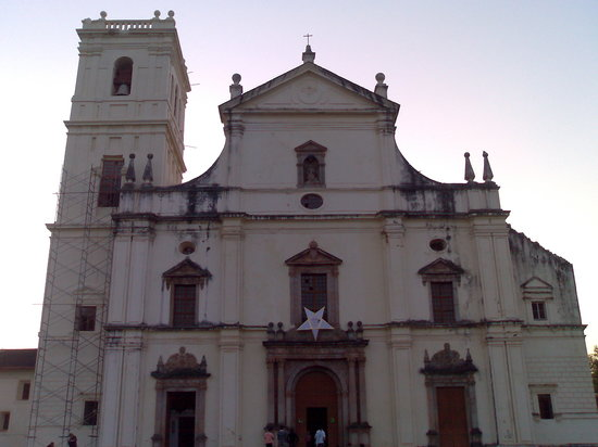 Panaji, Indien: Church in Old goa