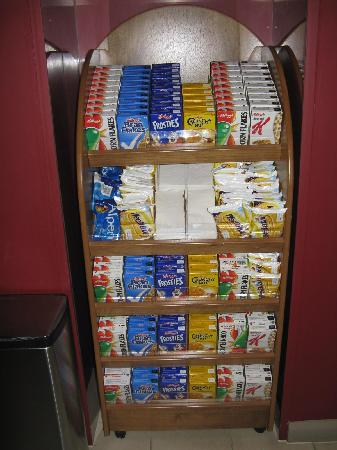 Holiday Inn Express Leeds City Centre: Breakfast buffet