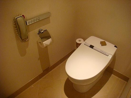 The Ritz-Carlton, Tokyo: The Club Deluxe room - Separate toilet area with washlet