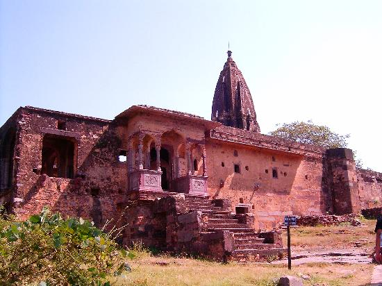 Ranthambore Fort: a temple