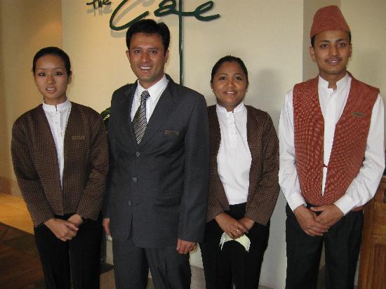 Hyatt Regency Kathmandu: Great staff at the restaraunt