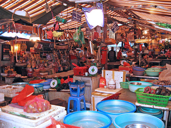 Hanói, Vietnam: Hang Be Market