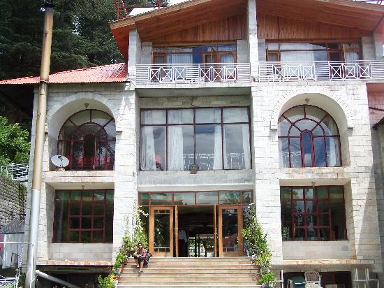 Shingar Regency: Hotel Back