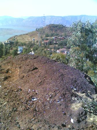 Panchgani, الهند: A view of Panchgani from a table land.