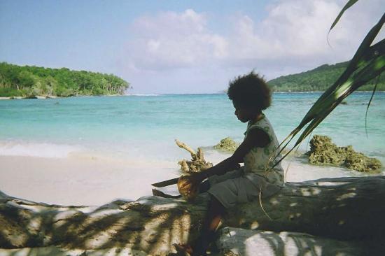 Young Girl.  Vanuatu