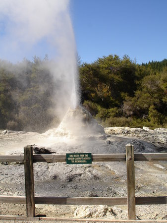Wellington, Nouvelle-Zélande : taupo hot springs