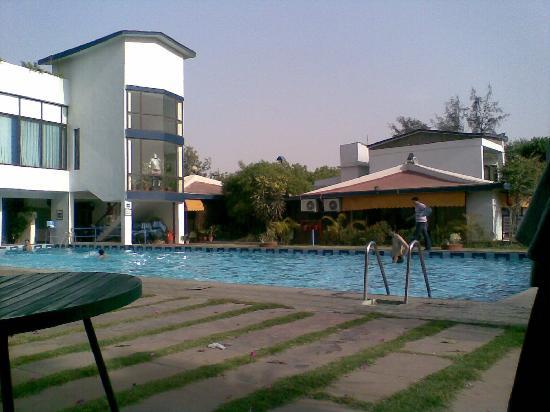 We At Swimming Pool Picture Of Best Western Resort Country Club Manesar Tripadvisor