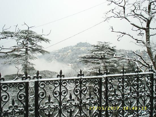 Shimla, India: simla in winter