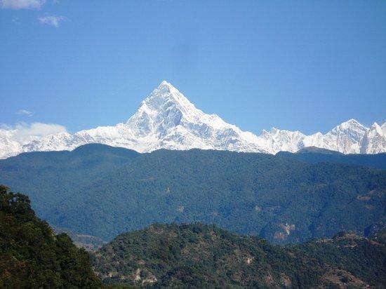 โปขระ, เนปาล: Mt. Machhapuchhare