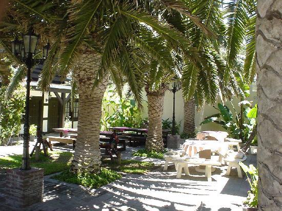 Hotel Europa Hof: courtyard