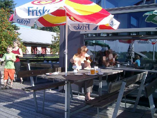 Danhostel CopenHagen Amager: Desayuno. Es un albergue, no un hotel.
