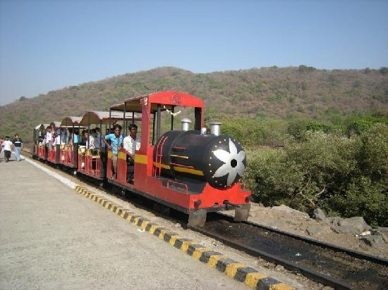 Elephanta Caves: The Toy Train