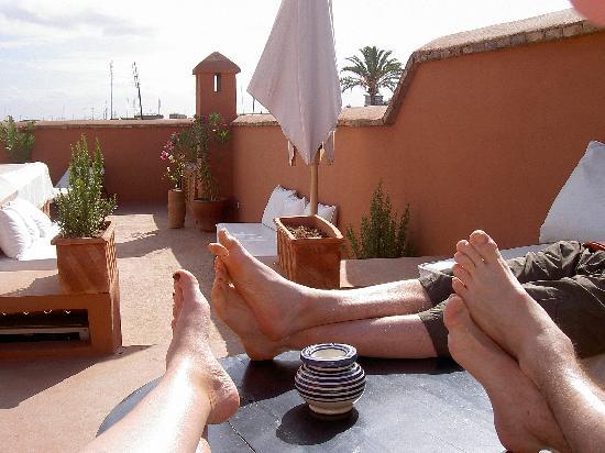 Riad Djebel : Terrasse