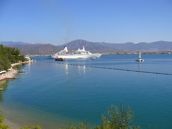 Letoonia Club & Hotel: View over the bay