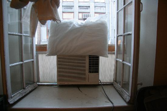 La Maison du Patriote: Airco installation...
