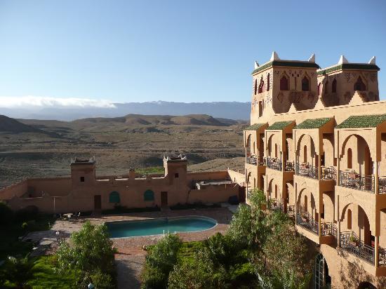 Kasbah Asmaa: vista dell'hotel