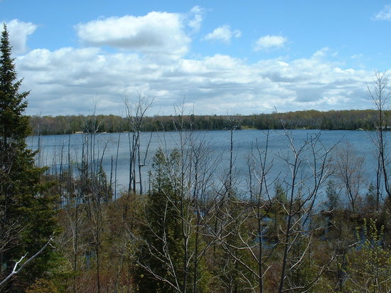 Sauble Beach, Canada: silver lake...not too far from the beach