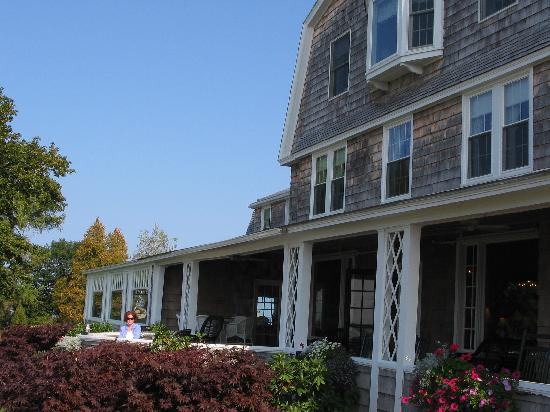 Black Point Inn: The Inn and expansive front porch