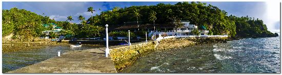 Coral Cove Resort: panaromic view of the hotel