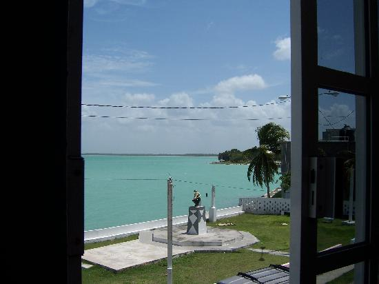 Mirador Hotel: View from Hotel window