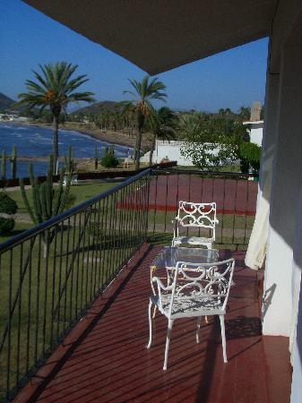 Hotel Playa de Cortes: North balcony