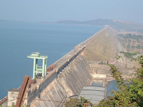Sambalpur, Indien: Hirakud Dam