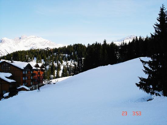 La Pomme de Pin : View from hotel