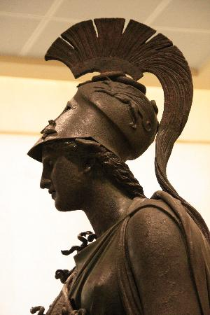 Archaeological Museum of Piraeus: Bronze statue of Athena