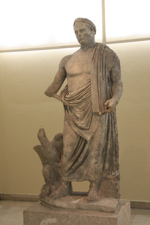 Archaeological Museum of Piraeus: Statue of Roman emperor