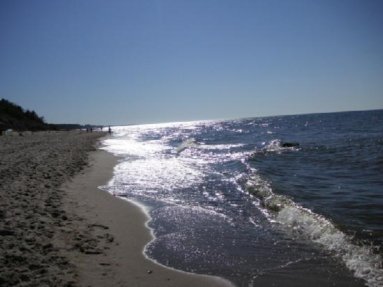 Ustronie Morskie, Polonia:  Polnischer Ostseestrand