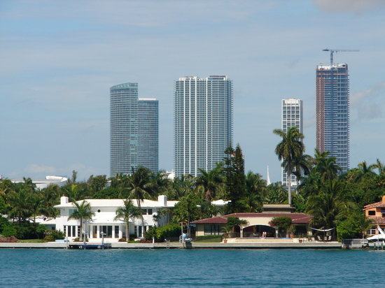 Miami, Floride : Star Island: singers and celebrities live.