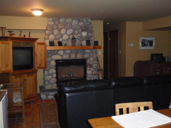 Bed & Breakfast on Mountain Lane : Living Area