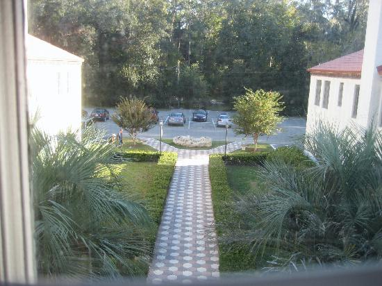 The Lodge at Wakulla Springs: View from Room #30.