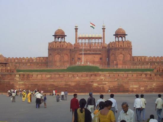 New Delhi, Indien: lal kila